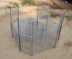 caixa-armadilha para corvídeos