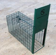 caixa-armadilha para gatos